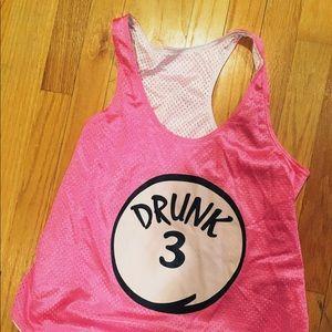 Tops - DRUNK 3 Pink Jersey